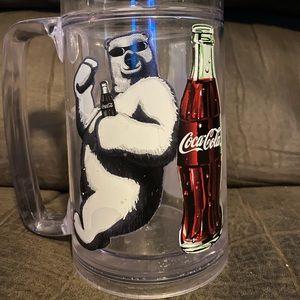 Coca-Cola Polar Bear ThermoServe Mug from 1998